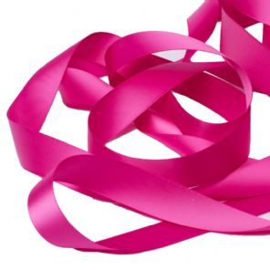 Fuchsia Pink Satin Ribbon